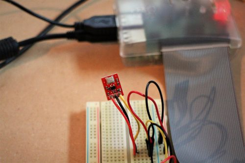 MEMS microphone breakout board — IoT Pet Monitor Bark Back Raspberry Pi