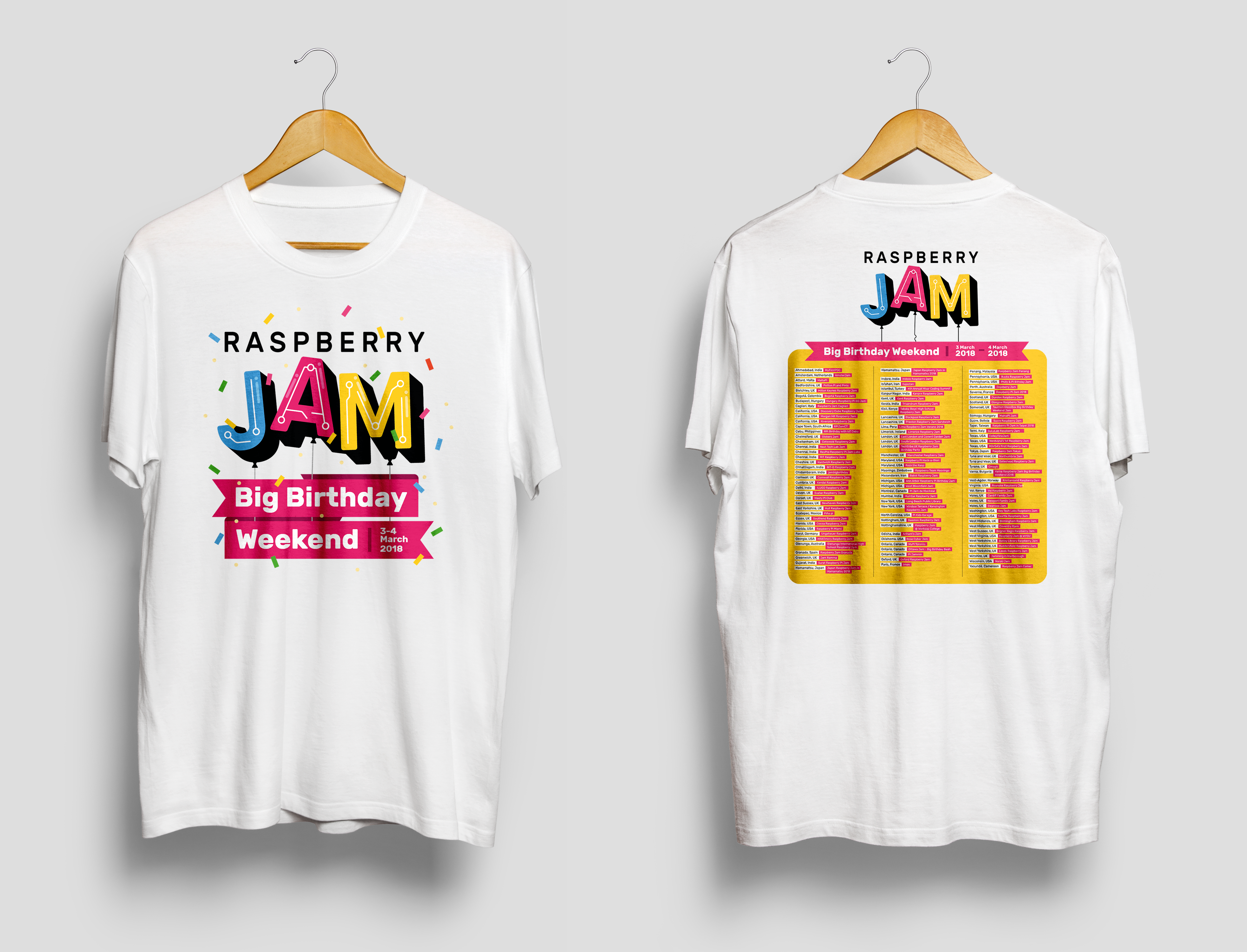 India Noise Raspberry Pi Singapore Low Level I O Control Startup Guide Jam Big Birthday Weekend 2018 T Shirt