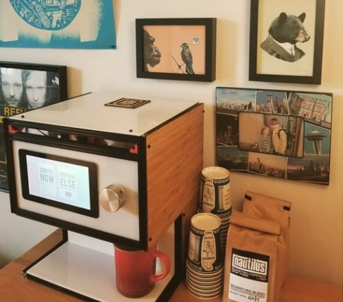 Mugsy Raspberry Pi Coffee Robot