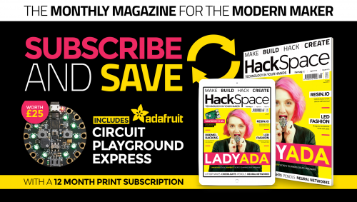 HackSpace magazine issue 5 Adafruit