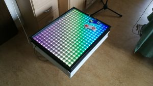 Raspberry Pi LED Table