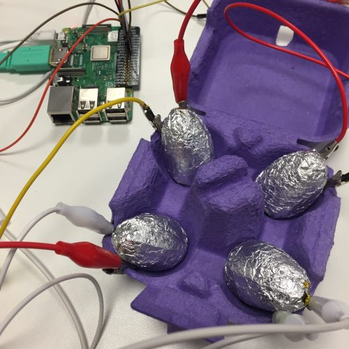 Easter Egg Hunt using Raspberry Pi