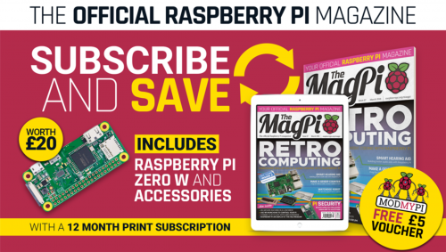 The MagPi subscription offer — The MagPi 73