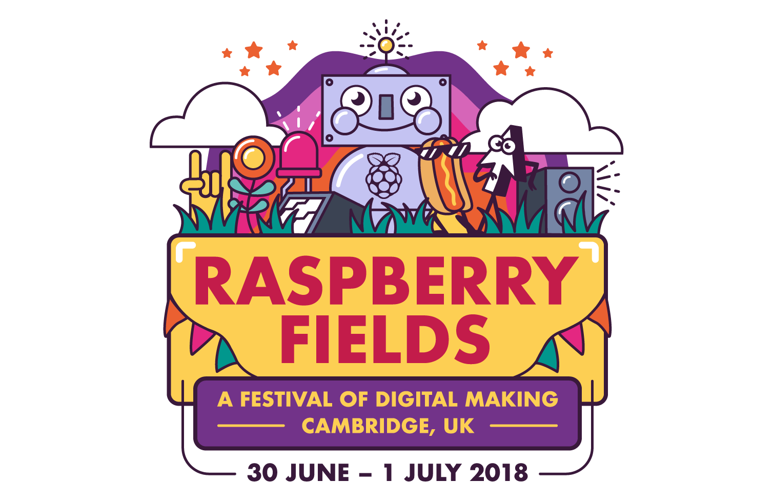 Join us at Raspberry Fields 2018!