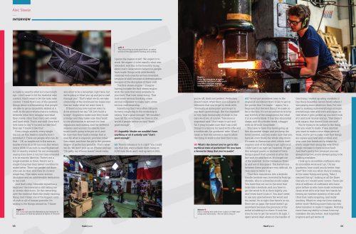 HackSpace magazine 6 Alec Steele