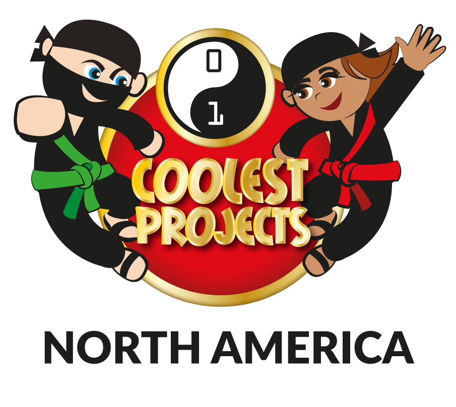 Coolest Projects North America logo Raspberry Pi CoderDojo