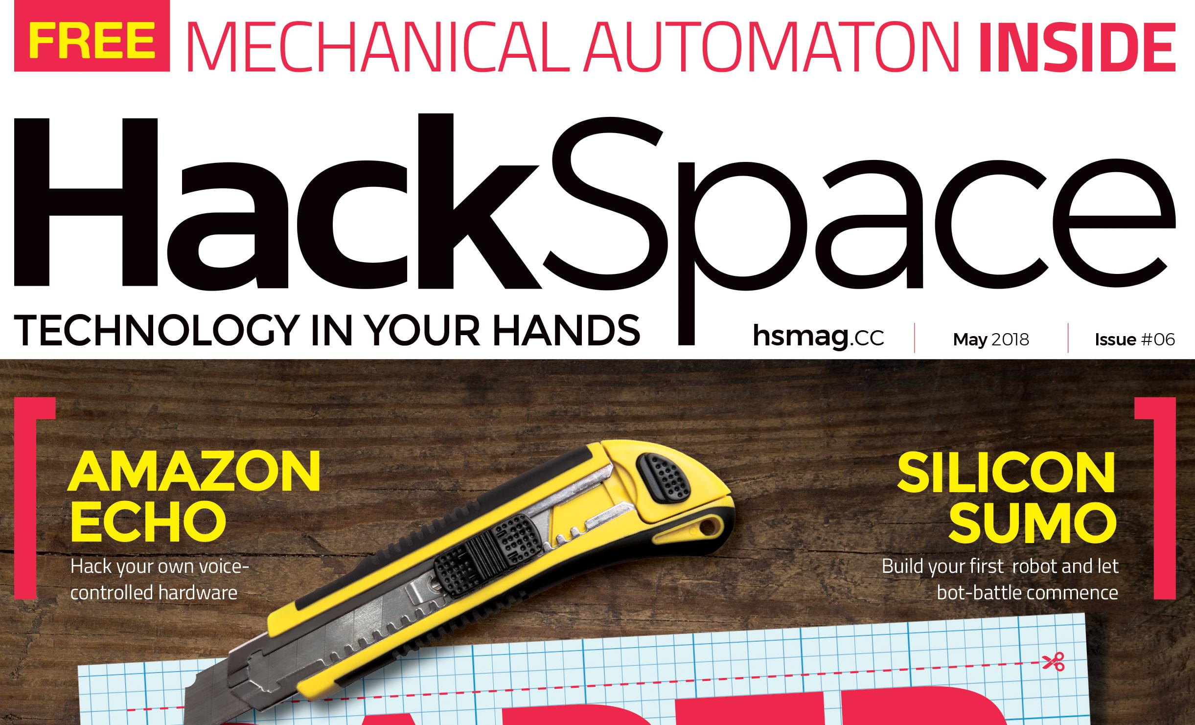 Hackspace magazine 6: Paper Engineering