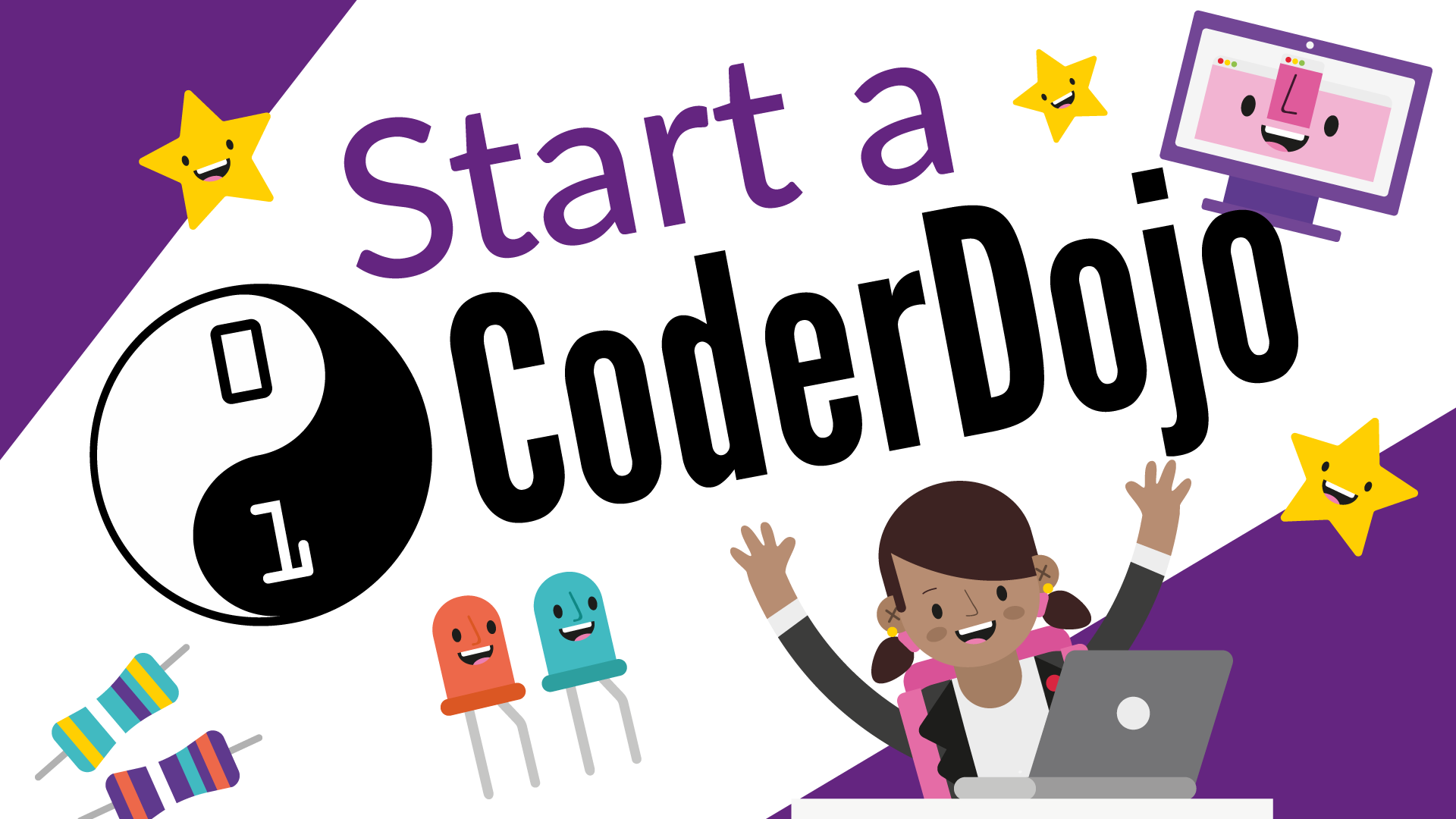 Start a CoderDojo with our free online training