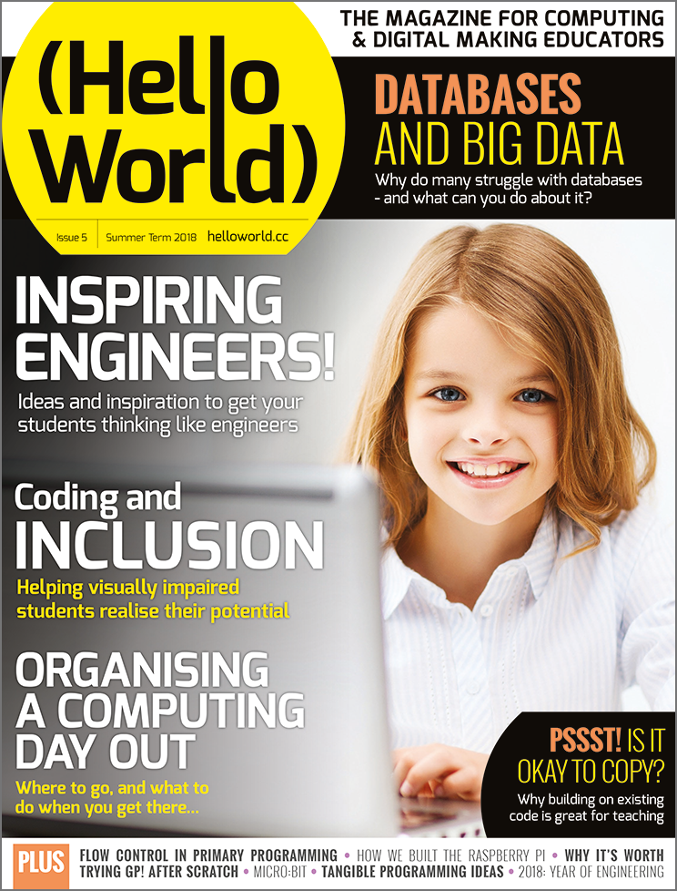 Cover of Hello World issue 5