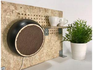 Søren Qvist Sphere 3D-printed laser-cut Raspberry Pi Speaker