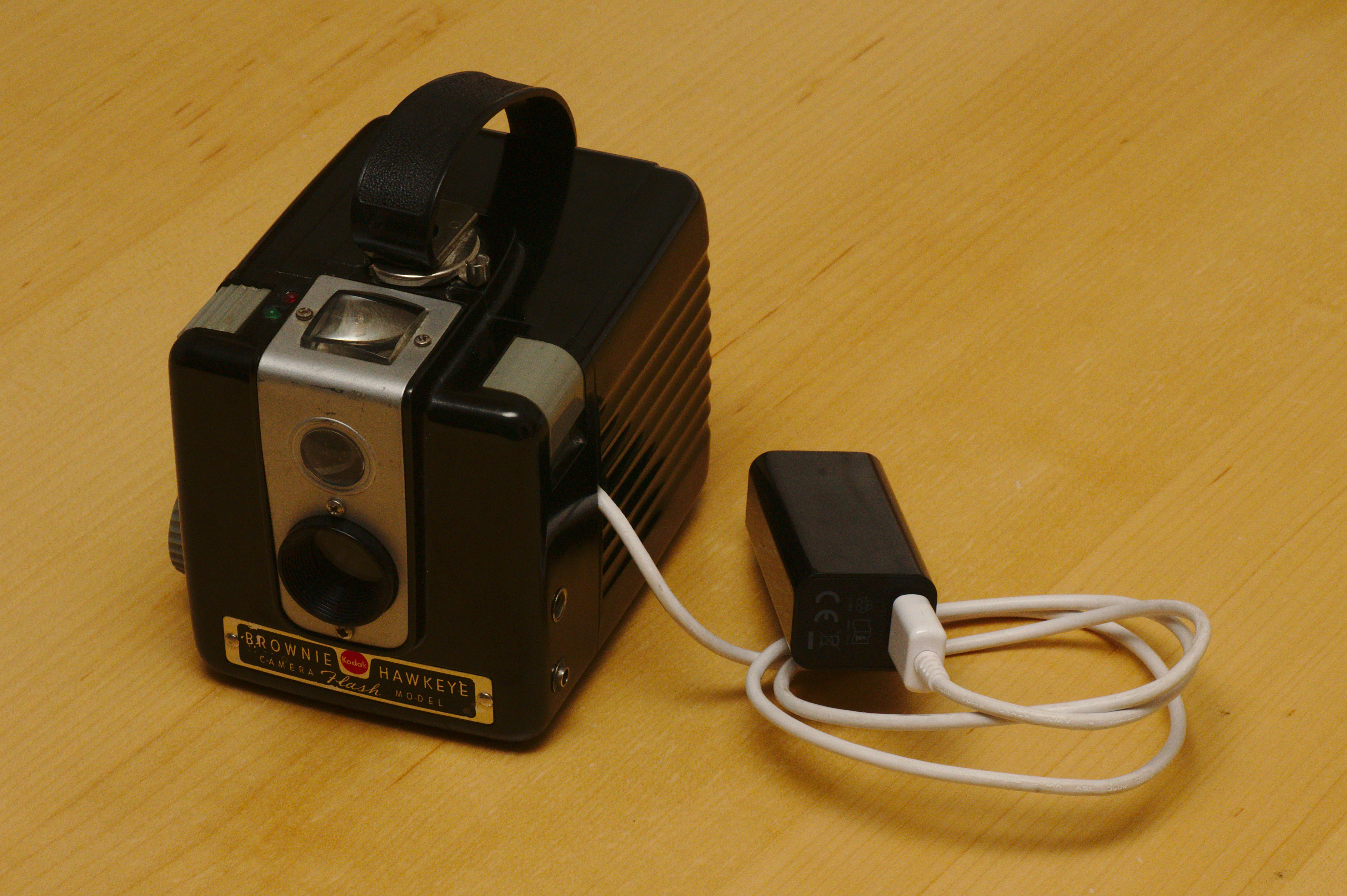 Converting a Kodak Box Brownie into a digital camera