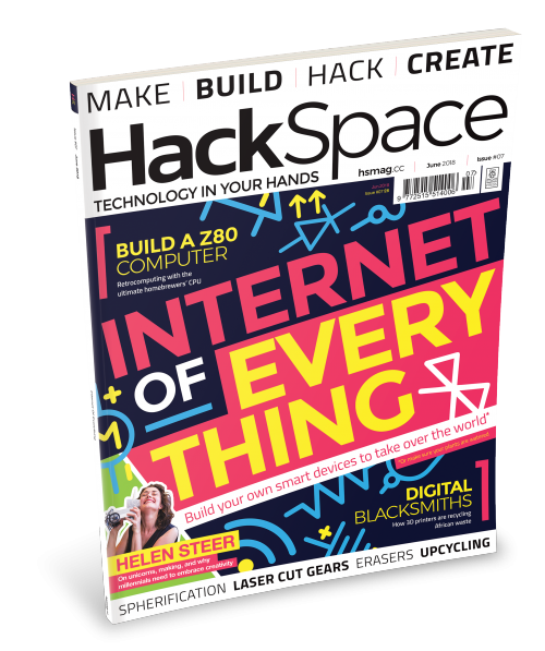 HackSpace magazine issue 7 cover