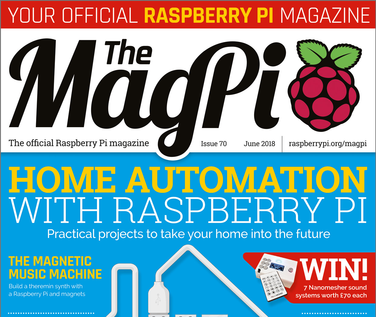 MagPi 70: Home automation with Raspberry Pi - Raspberry Pi