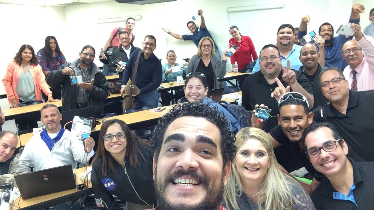 Puerto Rico's First Raspberry Pi Educator Workshop
