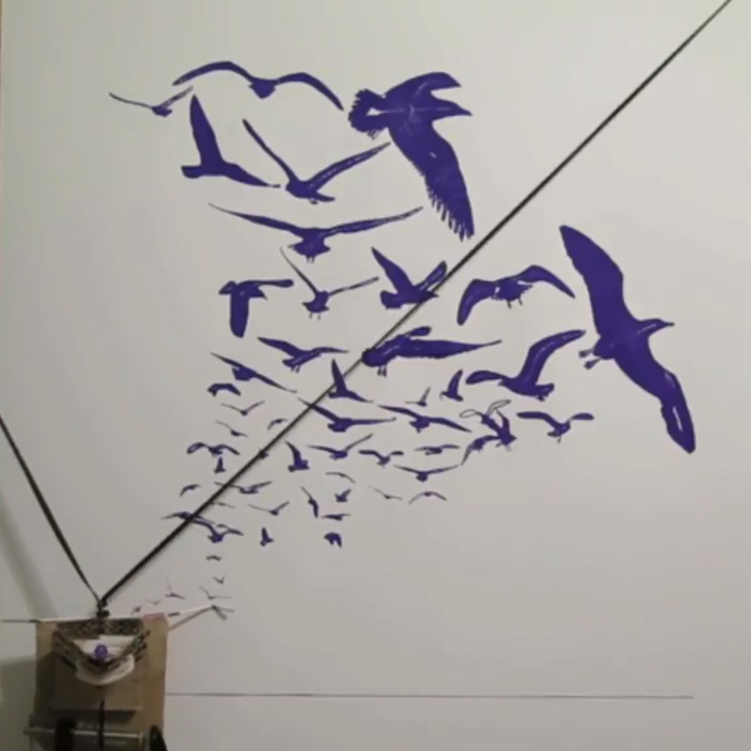 Enchanting images with Inky Lines, a Pi‑powered polargraph