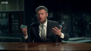 Raspberry Pi Charlie Brooker Election Wipe