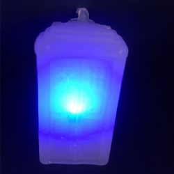 Custom hot glue LED