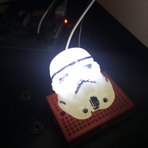 Star Wars custom LEDs Raspberry Pi