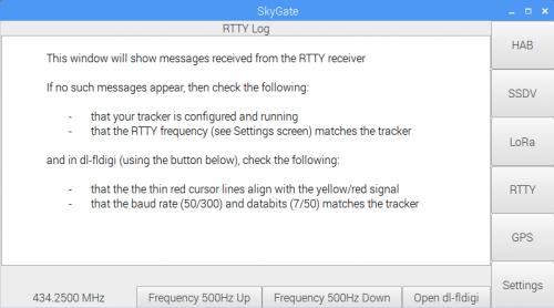 SkyGate - Raspberry Pi
