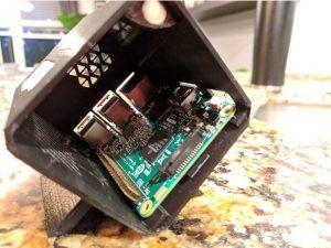 OMEN Accelerator 3D-printable Raspberry Pi case