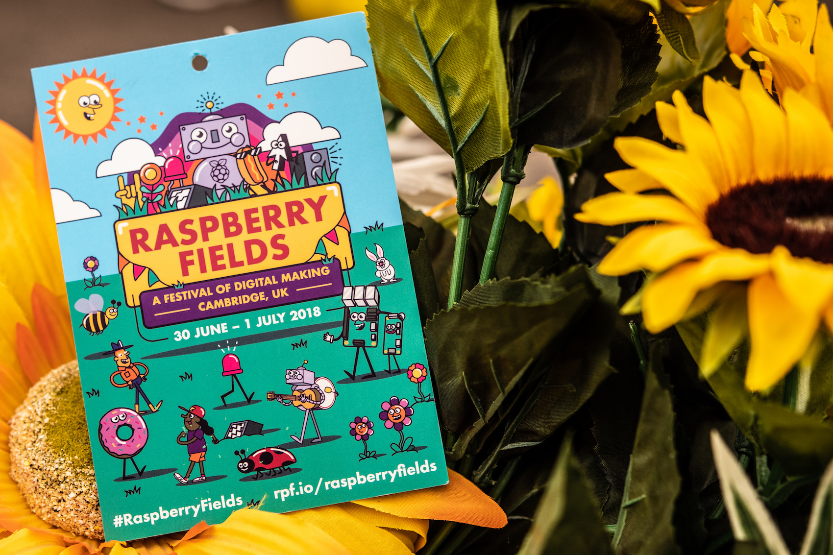 Raspberry Fields 2018: ice cream, robots, and coding