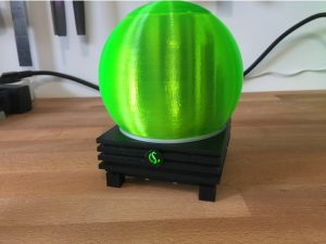 Okama Gamesphere 3d-printable Raspberry Pi case
