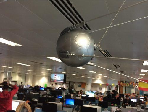 Raspberry Pi 3d-printable World Cup Sputnik