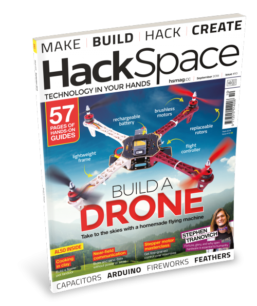 HackSpace magazine 10 Raspberry Pi Press