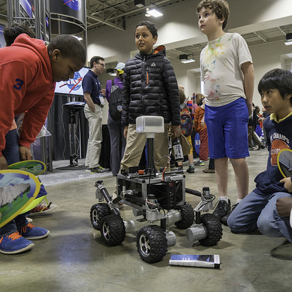 NASA JPL rover ROV-E Raspberry Pi