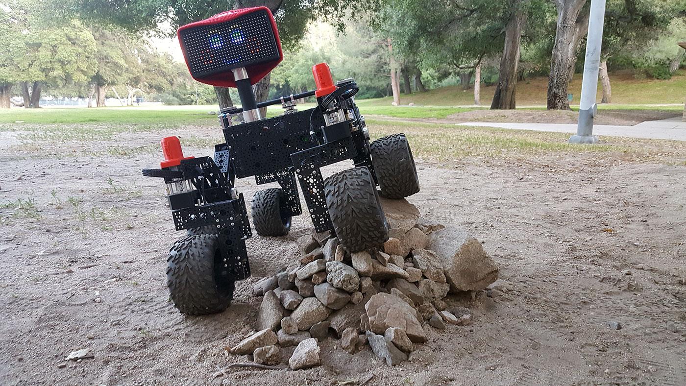 NASA JPL rover Raspberry Pi