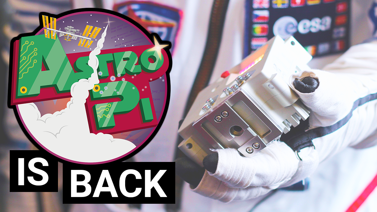 The European Astro Pi Challenge is back for 2018/2019