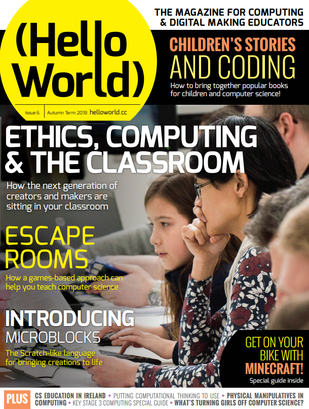 Hello World Issue 6: Ethical Computing