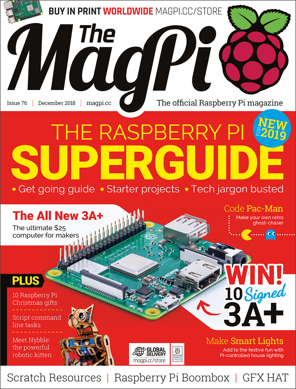 MagPi 76 front cover