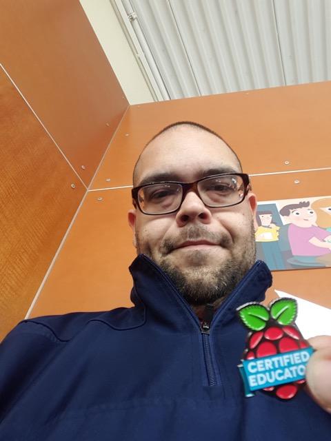 Marcos Navas selfie — Hands-On Coding