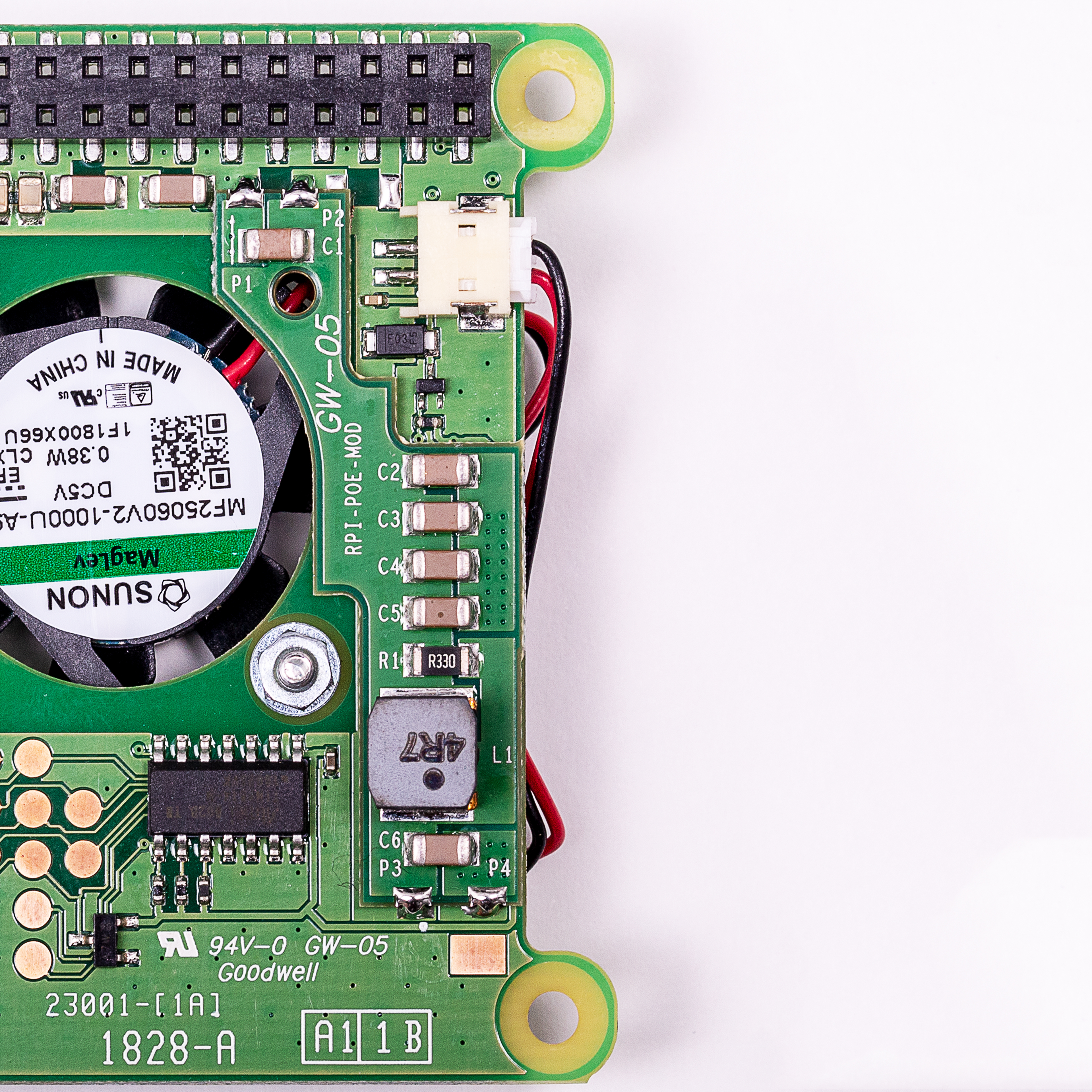 Anatomy of a product quality issue  PoE HAT - Raspberry Pi c2bb8617f30e
