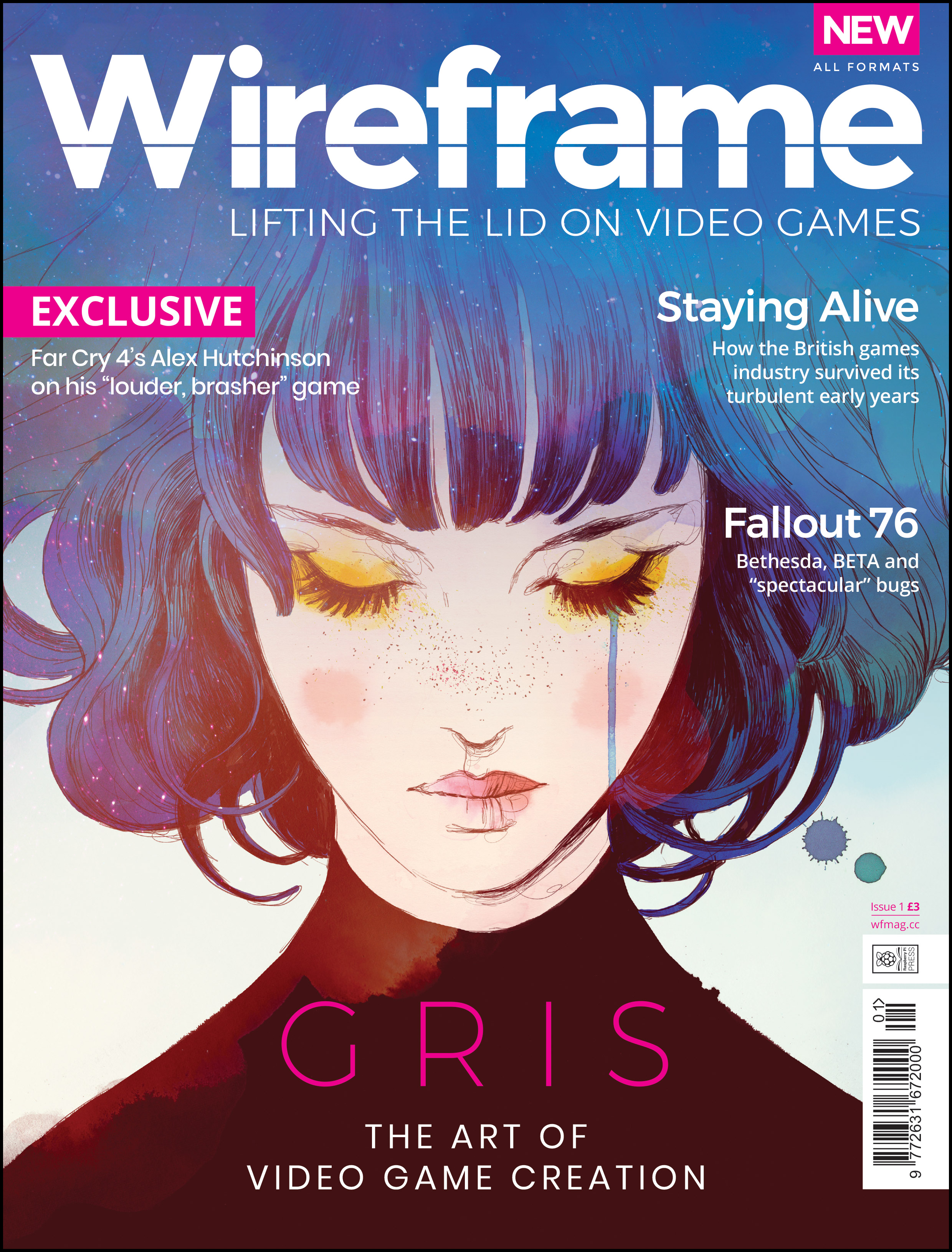 Wireframe issue 1 is out now!