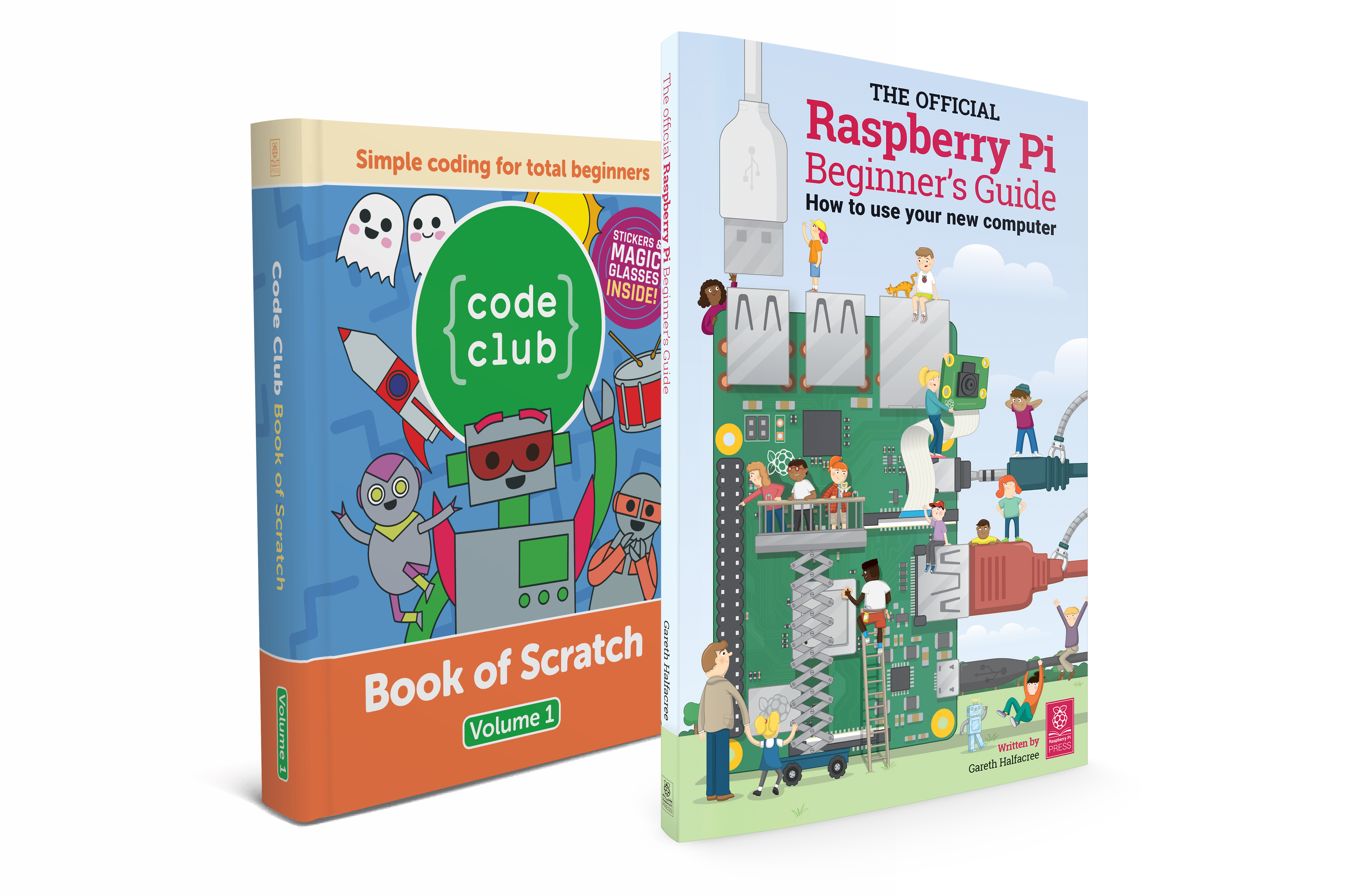 The Raspberry Pi Beginner's Guide is out now (and it's huge!)