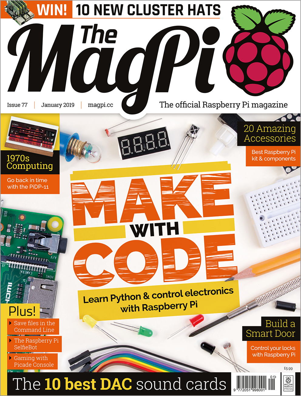 MagPi 77: Make with code