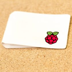 Raspberry Pi Swag - travel card holder