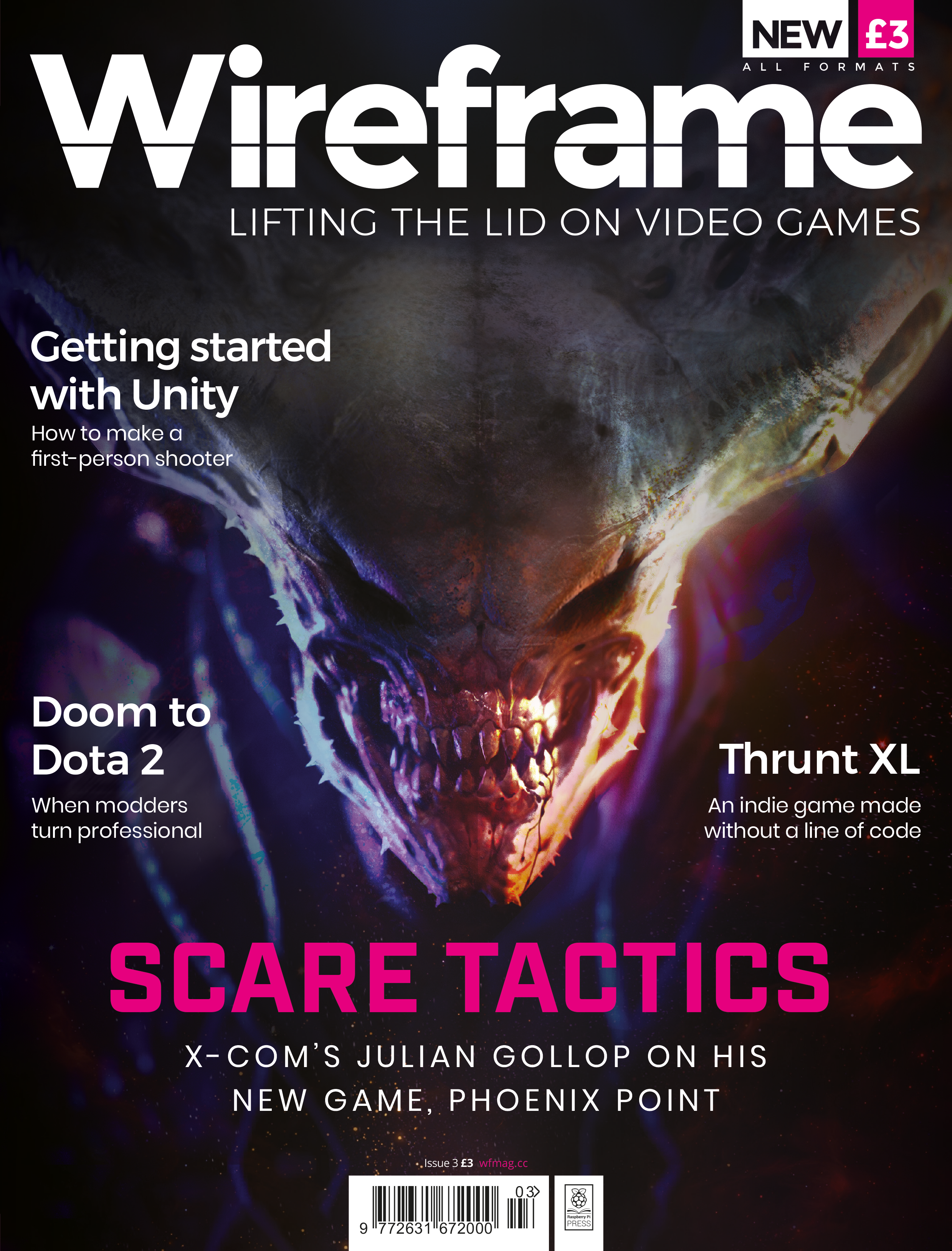 Wireframe 3: Phoenix Point, modders going pro, and more