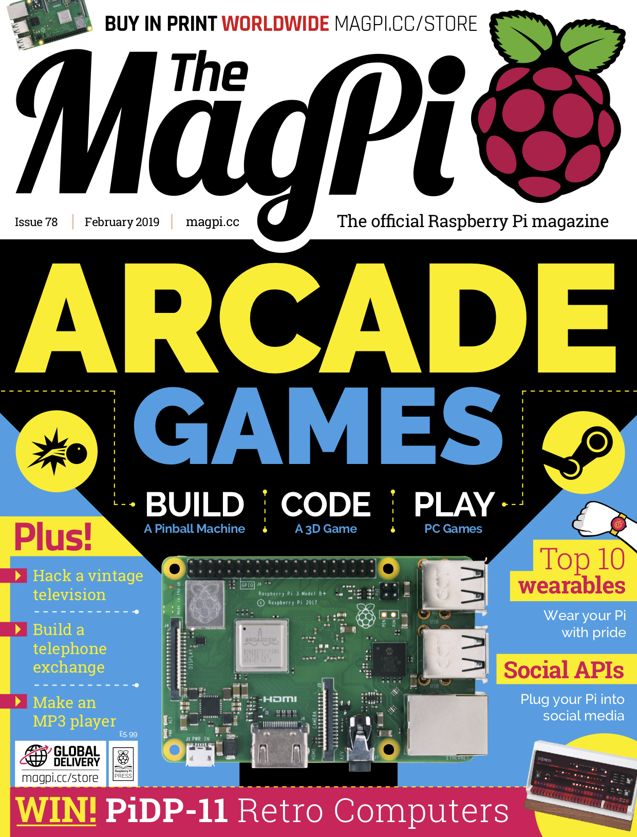 The MagPi magazine issue 78