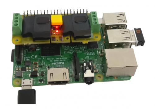 Raspiaudio HAT for Raspberry Pi