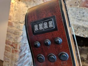 The Braille converter of the ChordAssist guitar
