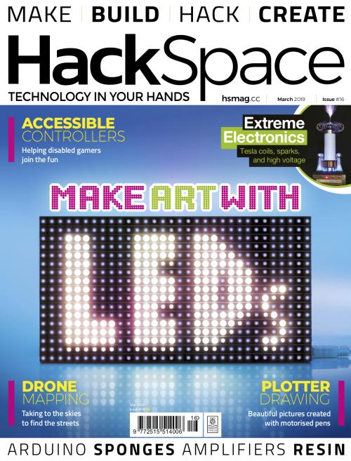 Make art with LEDs | HackSpace magazine #16