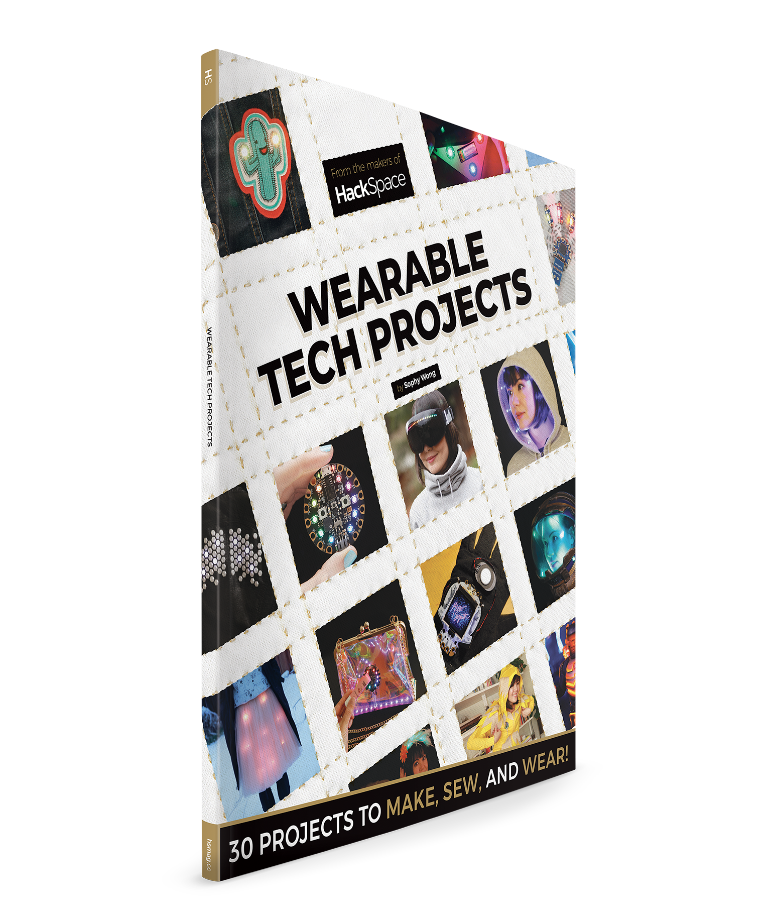 Sophy Wong HackSpace Wearable Tech Projects book