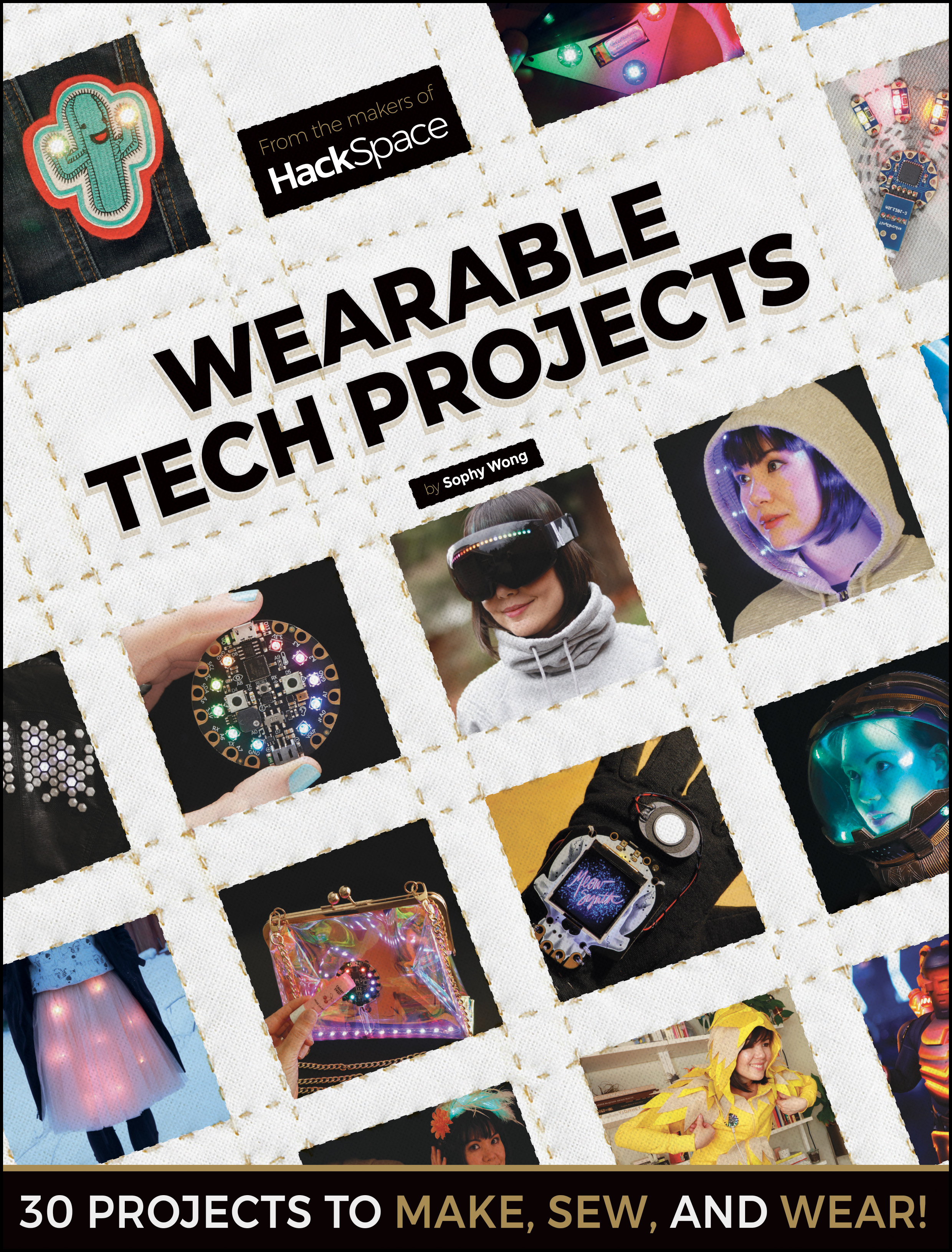 Create wearable tech with Sophy Wong and our new book | HackSpace magazine #18
