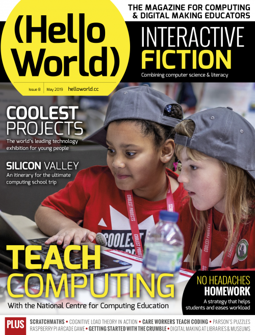 Interactive fiction with Python | Hello World issue 8