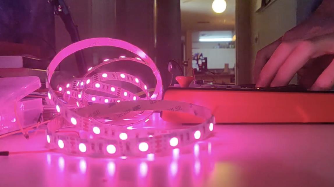 Bind MIDI inputs to LED lights using a Raspberry Pi