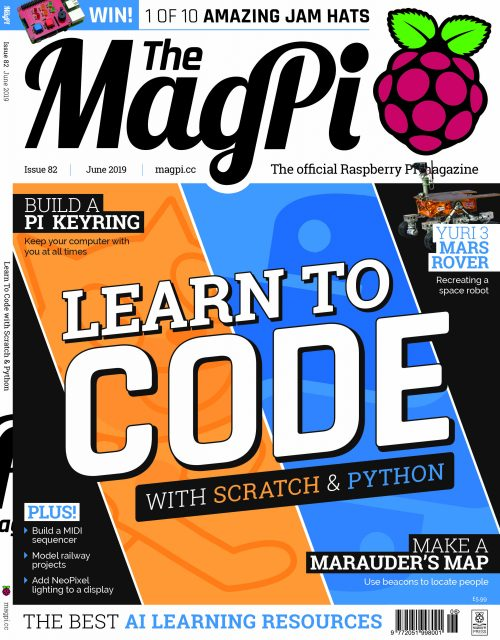 Cover of The MagPi issue 82