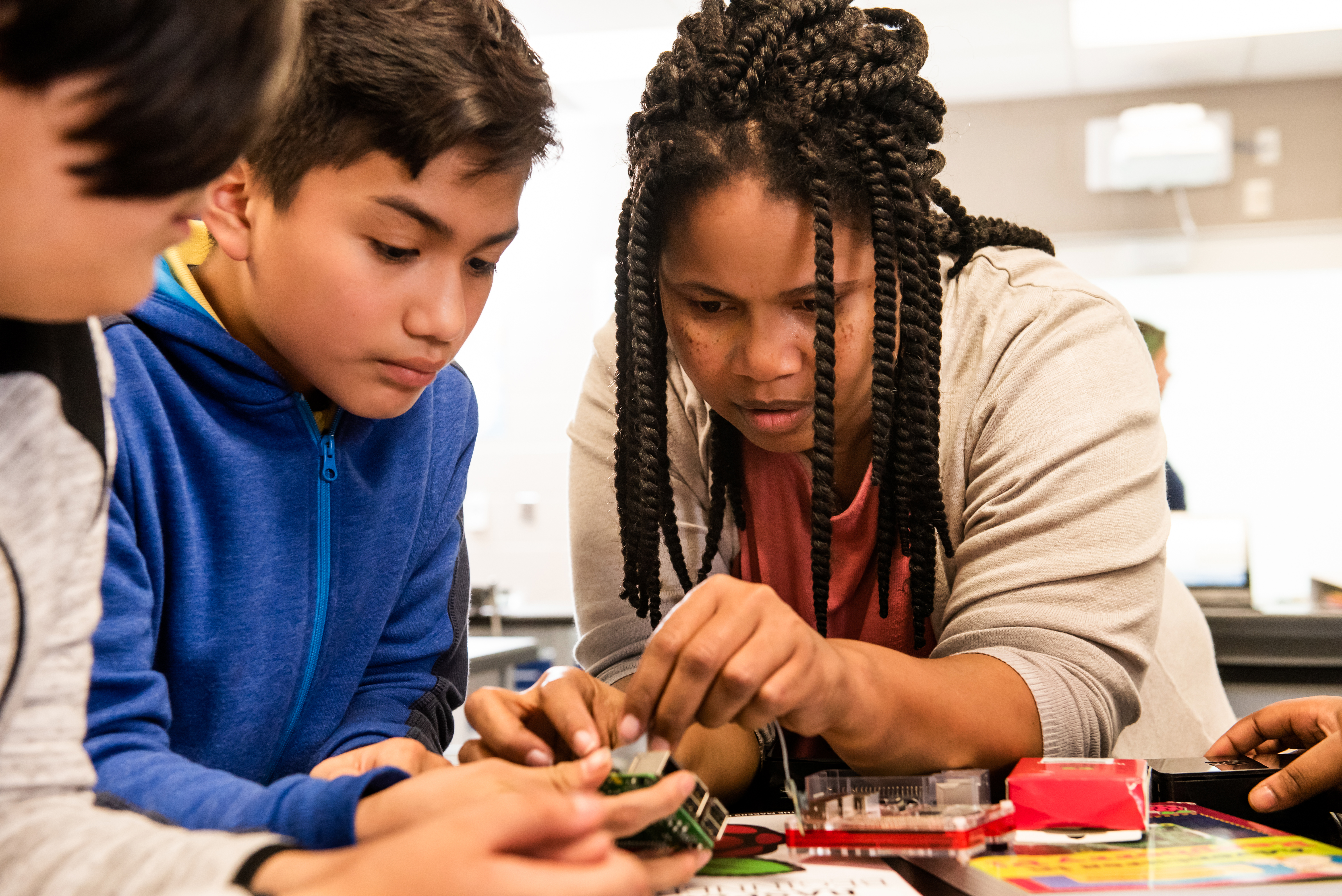 Possibilities of the Raspberry Pi — from Code Club to Coolest Projects USA
